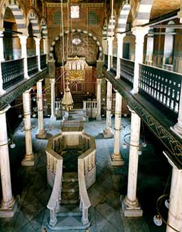 View of the Ben Ezra Synagogue Interior